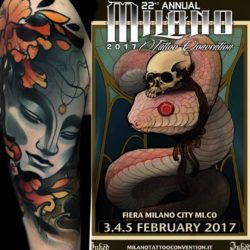 Marco Luzz alla Milano Tattoo Convention